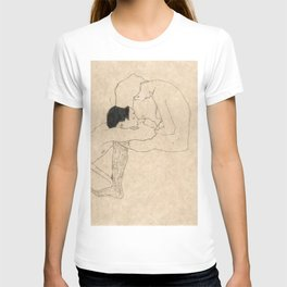 "Egon Schiele ""Lovers"" T-shirt"