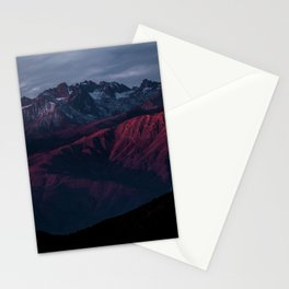 AERIAL PHOTO OF BROWN MOUTAINS Stationery Cards