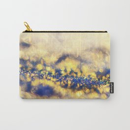 Ice Canyon in Purple and Gold Carry-All Pouch