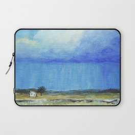 A Perfect Storm, Abstract Landscape Art Laptop Sleeve