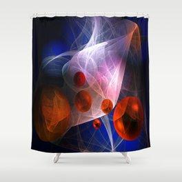 Somewhere Shower Curtain