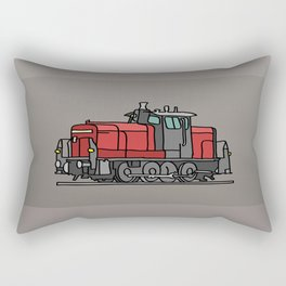 Diesel locomotive Rectangular Pillow