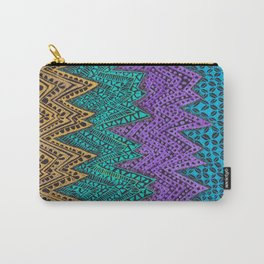 Zig Zag  Mountains Carry-All Pouch