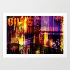 001-5 Art Print