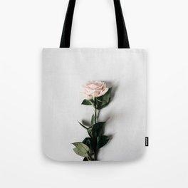 Minimalist Rose Tote Bag
