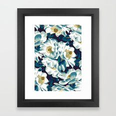 Mount Cook Lily (Night) Framed Art Print