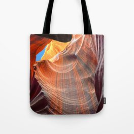 Geology Alive - Time Passage of Upper Antelope Canyon Tote Bag