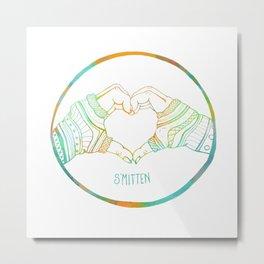 Smitten Metal Print