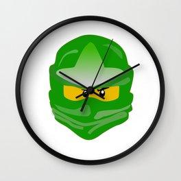 Ninjago face Lloyd  Wall Clock