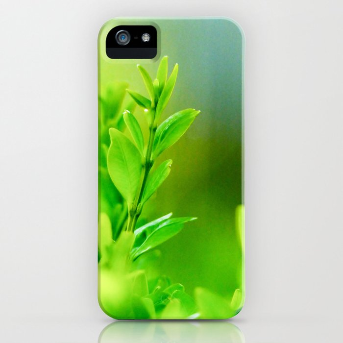 Green Harmony iPhone Case