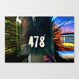 Abstract Prime Number Canvas Print