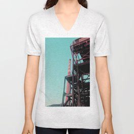 INDUSTRIAL PLAYGROUND - ASARCO IN DUST Unisex V-Neck