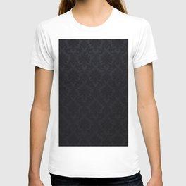 Black damask - Elegant and luxury design T-shirt