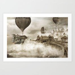 The Far Pavilions Art Print