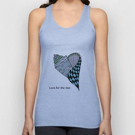 Love for the Sea Unisex Tank Top