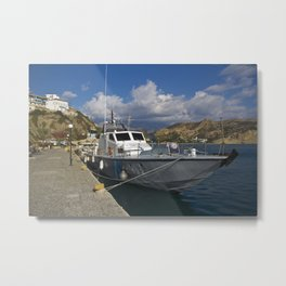 Harbour studies 005 Metal Print