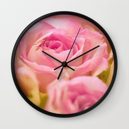 Flower Photography by Andrea Riedel Wall Clock
