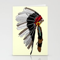native Stationery Cards featuring Native  by weliketrees