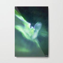 The Northern Angel Metal Print
