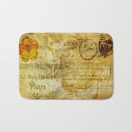 Postcard Lettre 5 Bath Mat