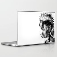 warcraft Laptop & iPad Skins featuring Punk Troll by Georgia Goddard
