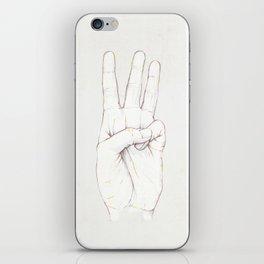 Three Threes iPhone Skin