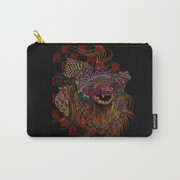 Bali Barong Mask Carry-All Pouch