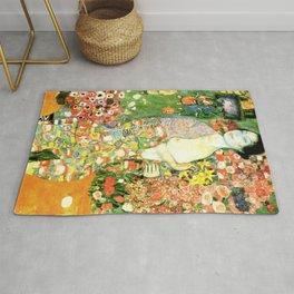 Gustav Klimt : The Dancer aka Die Tänzerin Rug
