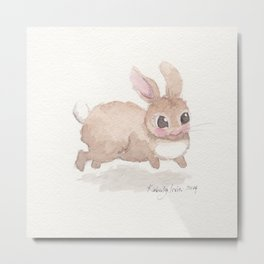 Hop To It Metal Print