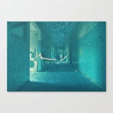 Haunted Water Canvas Print