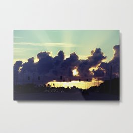 Road to a better place  Metal Print