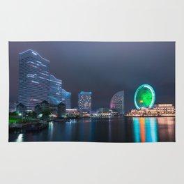 Yokohama Cityscape Rug