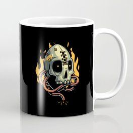 Skull Fire Coffee Mug