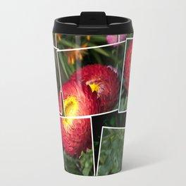 Helicrysum flower Travel Mug