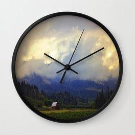 Hood River - Season Of Beauty Wall Clock