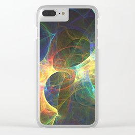 Spiral Out Clear iPhone Case