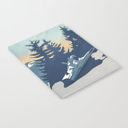 Mountain Sunrise (Pause II) Notebook