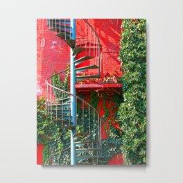 Upward Spiral Metal Print