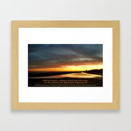 Watch What's Happening Now! Framed Art Print