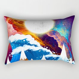 WTF Wave Rectangular Pillow