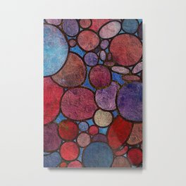 Colorful Abstract Stones 2 Metal Print