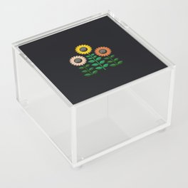 sunflowers Acrylic Box