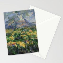 """Paul Cezanne """"Montagne Sainte-Victoire.Vue des Lauves"""" Stationery Cards"""