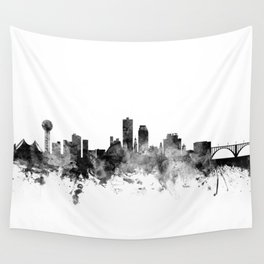 Knoxville Tennessee Skyline Wall Tapestry