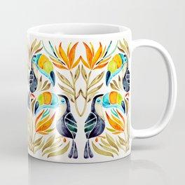Tropical Toucans – Sepia Palette Coffee Mug
