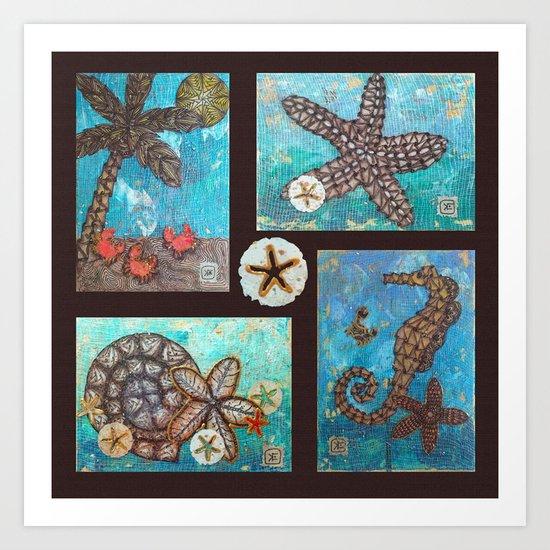 Sea Collection Art Print