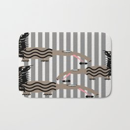 anteater and ants Bath Mat