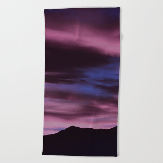 SW Rose Quartz Sunrise Beach Towel