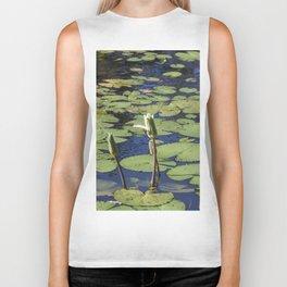 Lily Pond Biker Tank