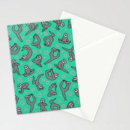 Sloth VS Yoga Stationery Cards
